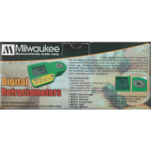 Milwaukee Digital Refractometer MA887