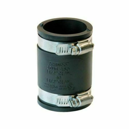 Flexible Boot Rubber Pipe Fitting Straight Connector Easy Connectors