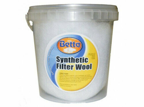 Betta Filter Floss 50g For Aquarium use. To Remove Solids Waste For Clear Water