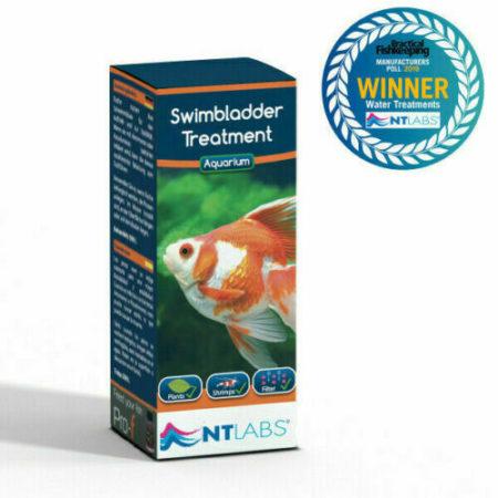 NT Labs Aquarium Swimbladder Treatment 100ml